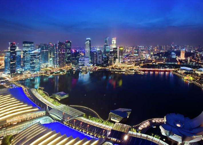 Смотровая Площадка Marina Bay Sands SkyPark
