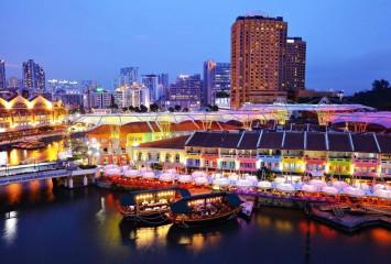 Круиз по реке Сингапур