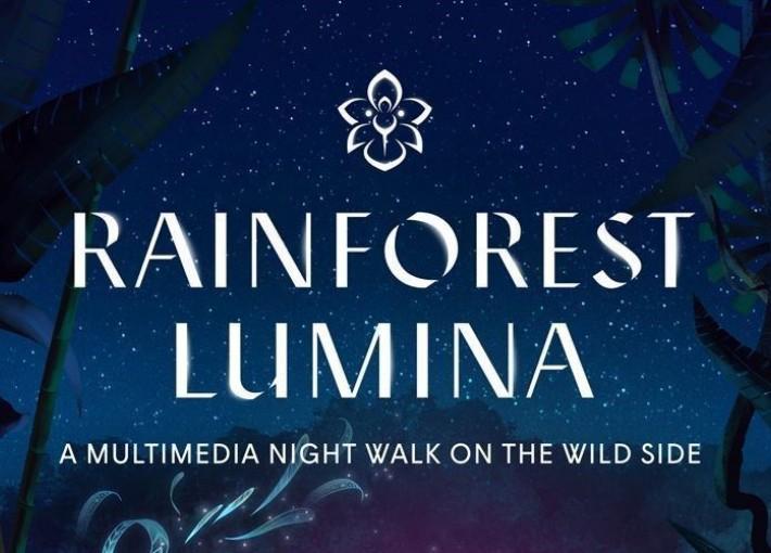 Световое Шоу Rainforest Lumina