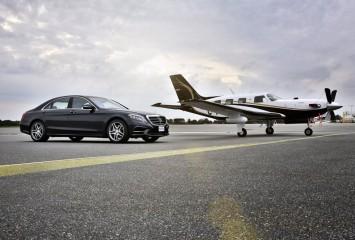 Трансфер аэропорт - отель  (Mercedes S class)