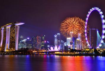 Колесо Обозрения в Сингапуре