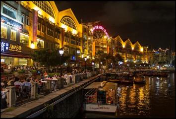 Набережная Бот Ки ( Boat Quay )